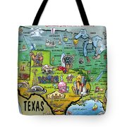 Texas Usa Tote Bag