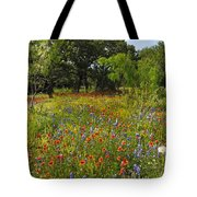 Texas Wildflower Medley Tote Bag