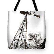 Texas Windmill 2 Tote Bag