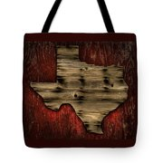 Texas Wood Tote Bag