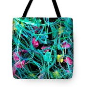 Textile Forest Tote Bag