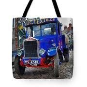 Textile Truck Colour Tote Bag