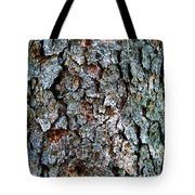 Textural Turquoise Rust Gray  Tote Bag