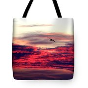 Textured Clouds Tote Bag
