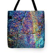 Texture And Color Abstract Tote Bag