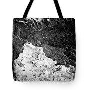 Texture No.2 B W Tote Bag