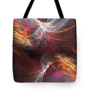 Texture Splash Tote Bag