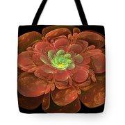 Textured Bloom Tote Bag by Sandy Keeton