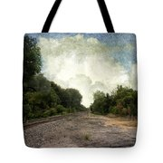 Textured Landscape Tote Bag
