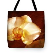 Textured Orchid Tote Bag