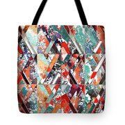 Textured Structural Abstract Tote Bag