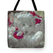 Textured Teddy Tote Bag
