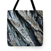 Textured Tree Bark Tote Bag
