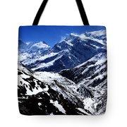 The Annapurna Circuit - The Himalayas Tote Bag