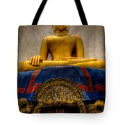Thai Golden Buddha Tote Bag
