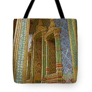 Thai-khmer Pagoda At Grand Palace Of Thailand In Bangkok Tote Bag