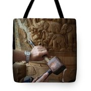 Thai Woodworker Tote Bag