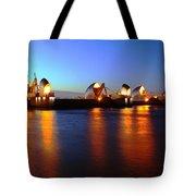 London Thames River Tote Bag