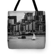 Thames Sailing Tote Bag