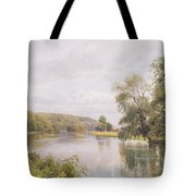 Thames Tote Bag by William Bradley