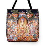 Buddha Art Thangka Tote Bag