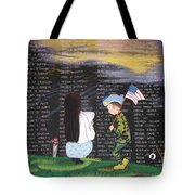 Thank You Again Hand Embroidery Tote Bag