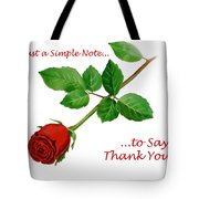 Thank You Card   Tote Bag