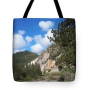 Clouds Of Hearts Tote Bag