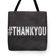 Thank You- Greeting Card Tote Bag