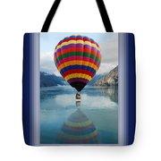 Thank You Hot Air Balloon In Alaska Tote Bag