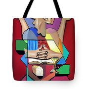 Thanks And Praise Tote Bag by Anthony Falbo