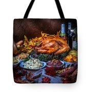 Thanksgiving Dinner Tote Bag