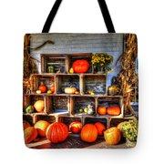 Thanksgiving Pumpkin Display No. 1 Tote Bag