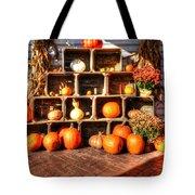 Thanksgiving Pumpkin Display No. 2 Tote Bag
