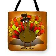 Thanksgiving Turkey Pilgrim Tote Bag