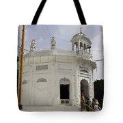 Thara Sahib Inside The Golden Temple Tote Bag