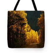 The Golden Road Tote Bag