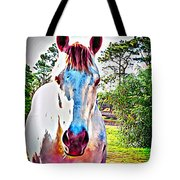 That Horses Face Tote Bag