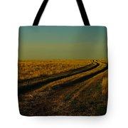 That Long Long Road Tote Bag