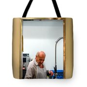 That Man In The Window Again Tote Bag