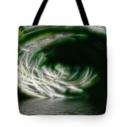 That Stooped Down Unto The Sea Tote Bag