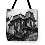 Phycho 1960 House Tote Bag