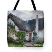 Thatched Cottage Tote Bag