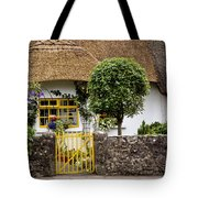 Thatched Cottage House Tote Bag