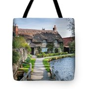 Thatched Cottage Thornton Le Dale Tote Bag