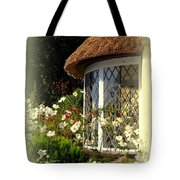 Thatched Cottage Window Tote Bag