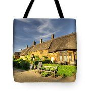 Thatched Cottages At Great Tew  Tote Bag