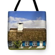 Thatched Country House Tote Bag