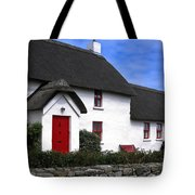 Thatched Roof House Tote Bag