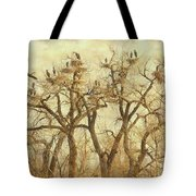 Thats A Lot Of Great Blue Heron Tote Bag